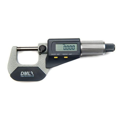 DML 0-25mm IP54 Digital Micrometer DM3025