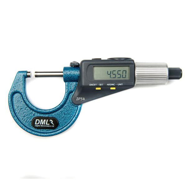 DML 0-30mm IP54 Double Display Micrometer DM3030DD