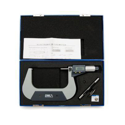DML 100-125mm IP54 Digital Micrometer DM3125