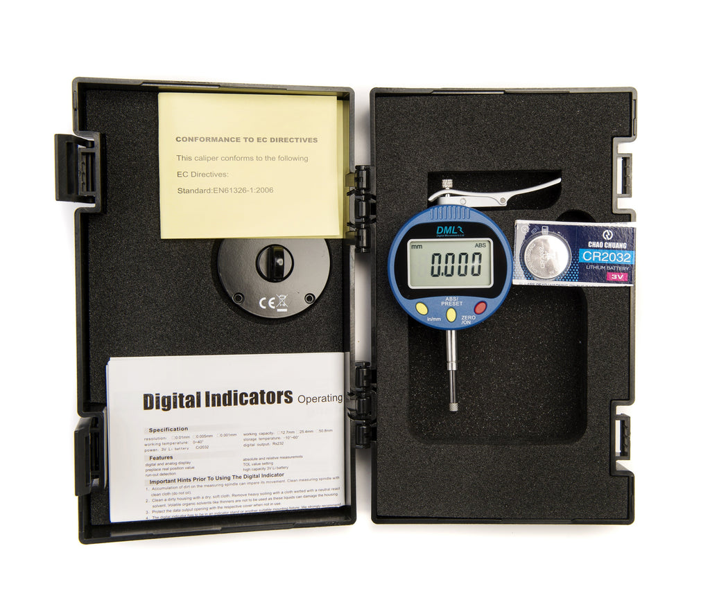 10mm (0.001mm) Lever Operated Digital Indicator DI1201LIndicators