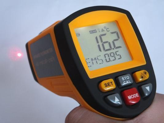 1150ºC Infrared Thermometer IRT1000Thermometers