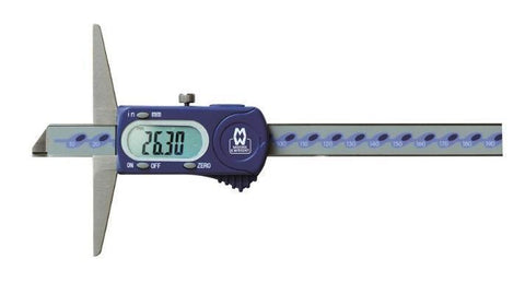 150mm Digitronic Digital Depth Gauge MW170-15DBDepth Gauges