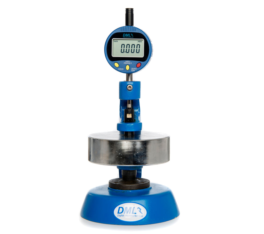 5mm Paper Thickness Gauge DML3801P - Digital Micrometers Ltd