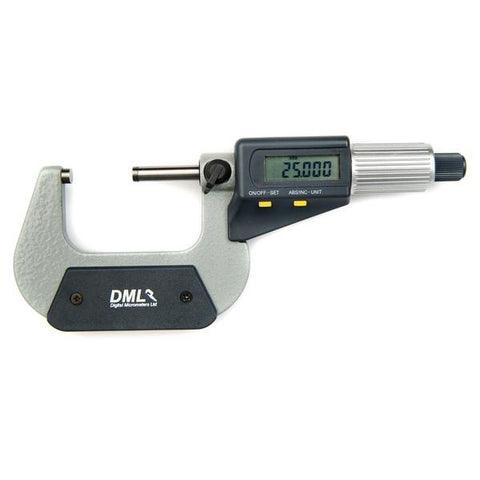 25-50mm IP54 Digital Micrometer DM3050
