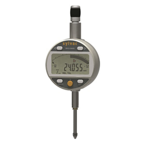 Sylvac 30-805-5507 (0-25mm) IP54 Dial Work Analogue Digital Indicator