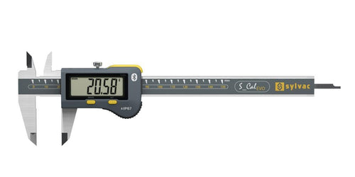 Sylvac 30-810-1536 S_Cal EVO Bluetooth (0-300mm) IP67 Digital Caliper