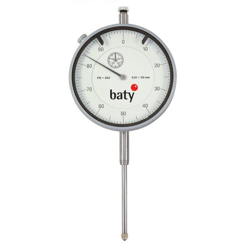 Baty FM-302 (50mm) Analogue Plunger Dial Indicator