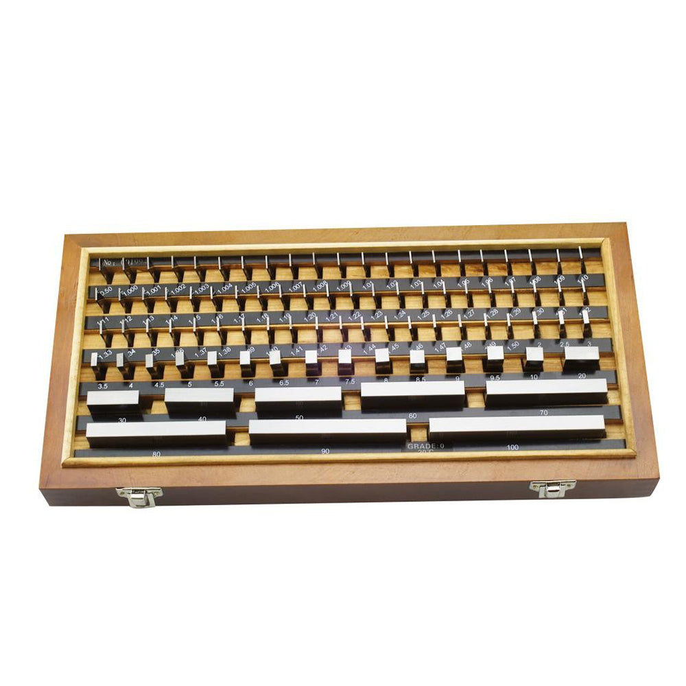 Moore & Wright MW700-12 Grade 2 Steel Gauge Block Set (32 Pce)