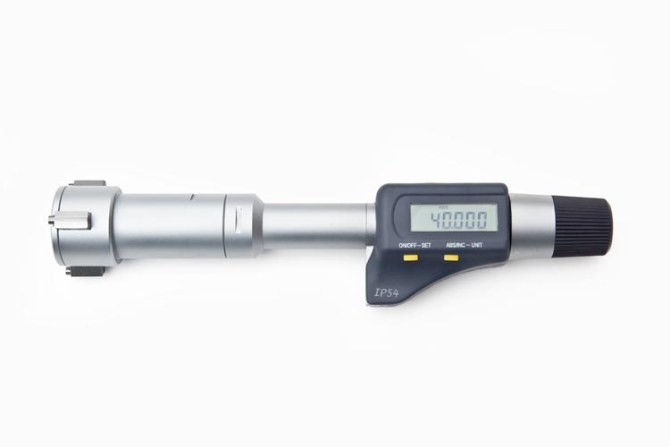 40 - 50mm Three-Point Digital Bore Gauge DBG4050