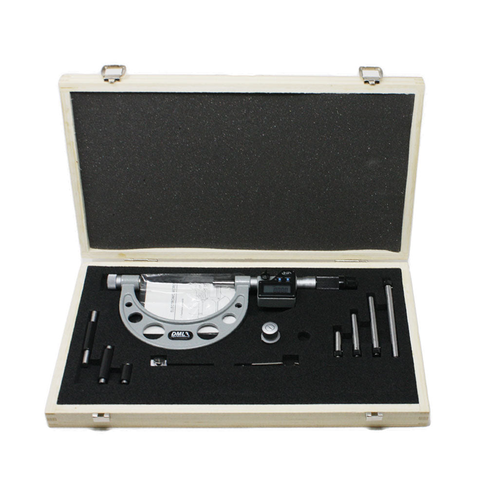 0-100mm IP65 Adjustable Digital Micrometer DM6100