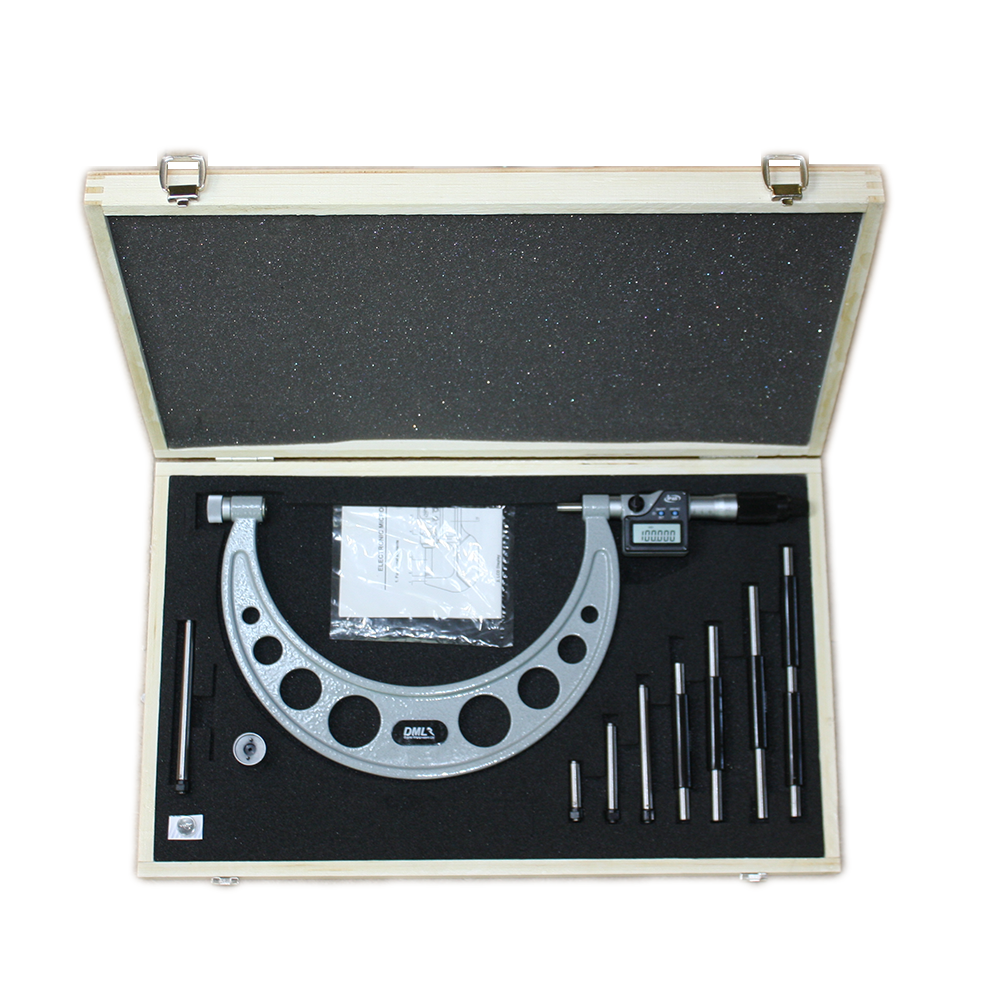 100-200mm IP65 Adjustable Digital Micrometer DM6200