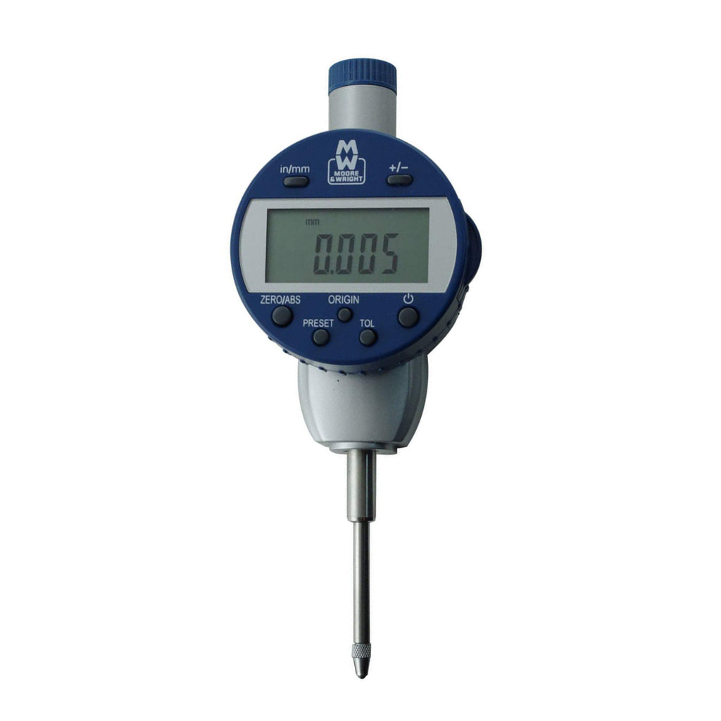 Moore & Wright 25mm (0.001mm) IP54 Digital Absolute Indicator MW430-02DABS