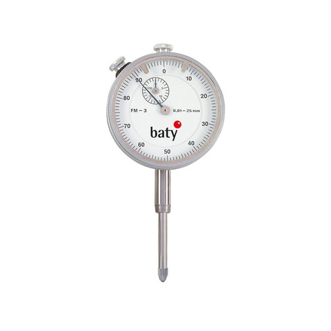 Baty FM-3 (25mm) Analogue Plunger Dial Indicator