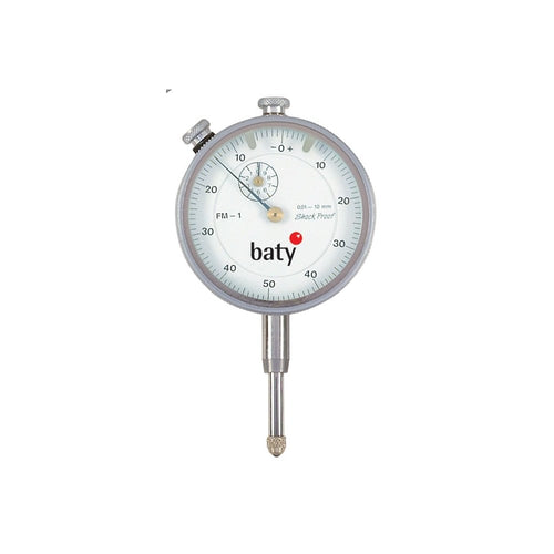 Baty FM-5 (1mm) Analogue Plunger Dial Indicator