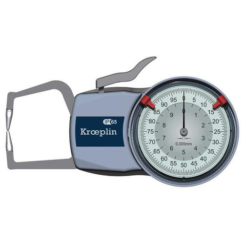 Kroeplin D110 (0-10mm) External Metric Calipers