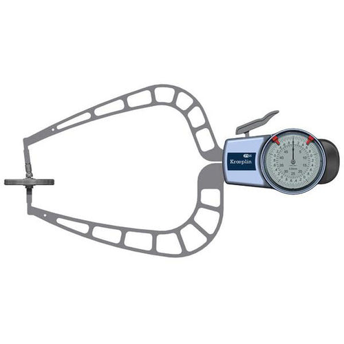 Kroeplin D450T (0-50mm) Foamed Materials & Foils Measurement Caliper