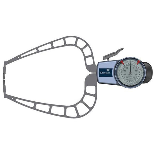 Kroeplin D450 (0-50mm) External Metric Digital Calipers