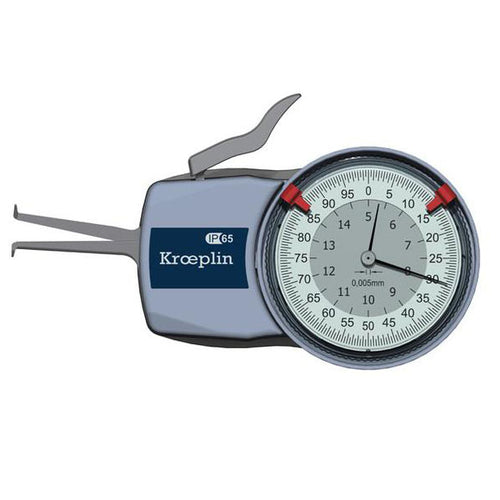 Kroeplin H250 (50-70mm) Internal Metric Calipers