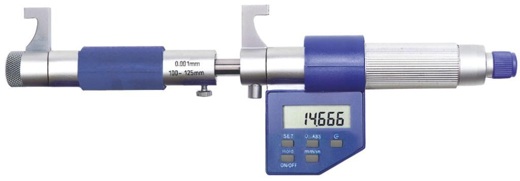 Moore & Wright MW280-03DDL (50-75mm) Digital Caliper Type Inside Micrometer