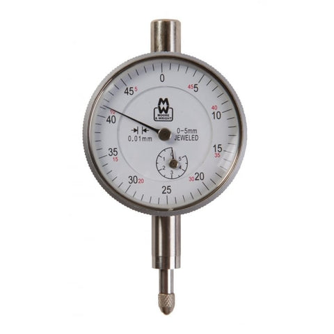 MW400-04 Moore & Wright (0-5.0mm) Dial Indicator 400 Series