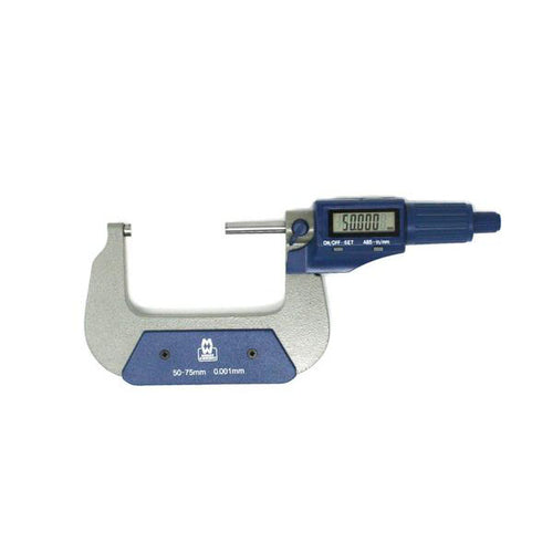 Moore & Wright 50-75mm Value Line Digital Micrometer MW200-03DBL