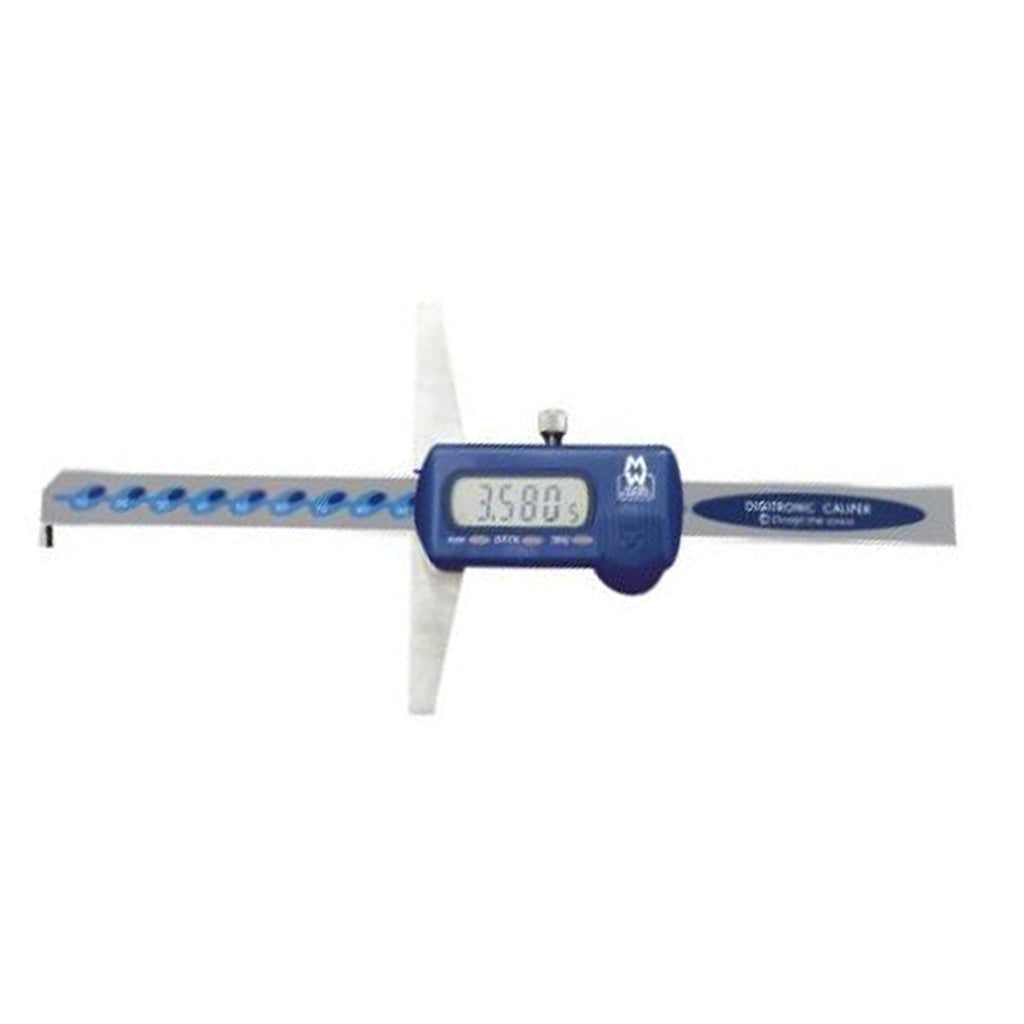 Moore & Wright MW170-20DH (0-200mm) Digital Depth Gauge Caliper - With Hook