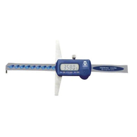 Moore & Wright MW170-30DH (0-300mm) Digital Depth Gauge Caliper - With Hook