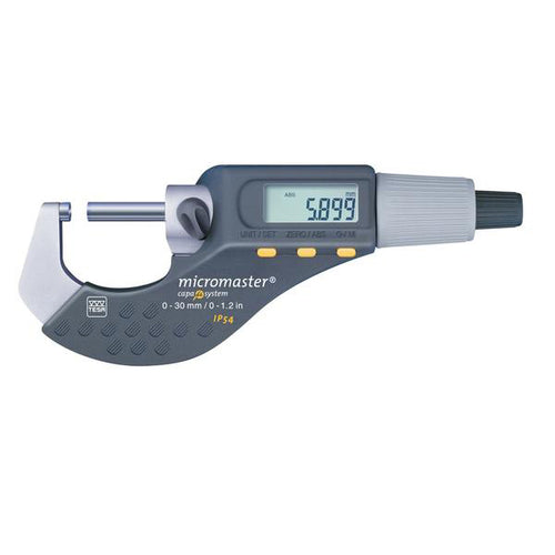 TESA Micromaster 0-30mm IP54 Digital Micrometer 06030020