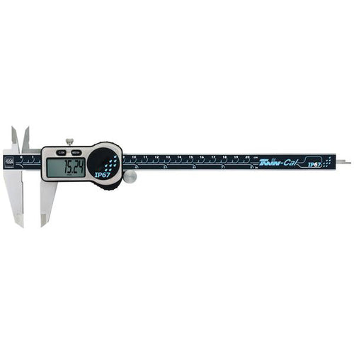 TESA Twin-Cal IP67 200mm Digital Caliper 00530322
