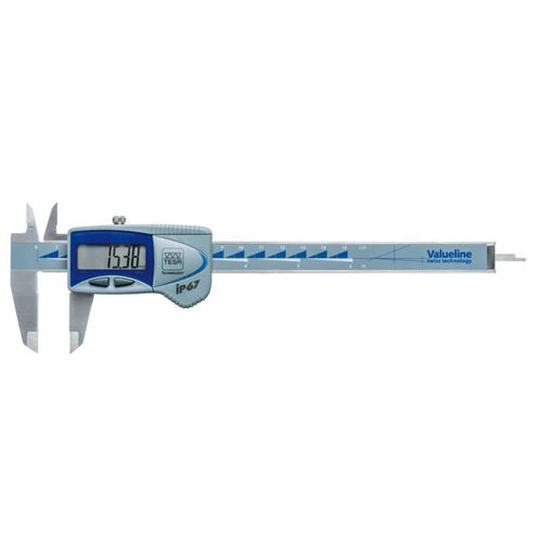 TESA Valueline IP67 150mm Digital Caliper 00539390