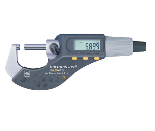 TESA Micromaster IP54 0-30mm Digital Micrometer - Digital Micrometers Ltd