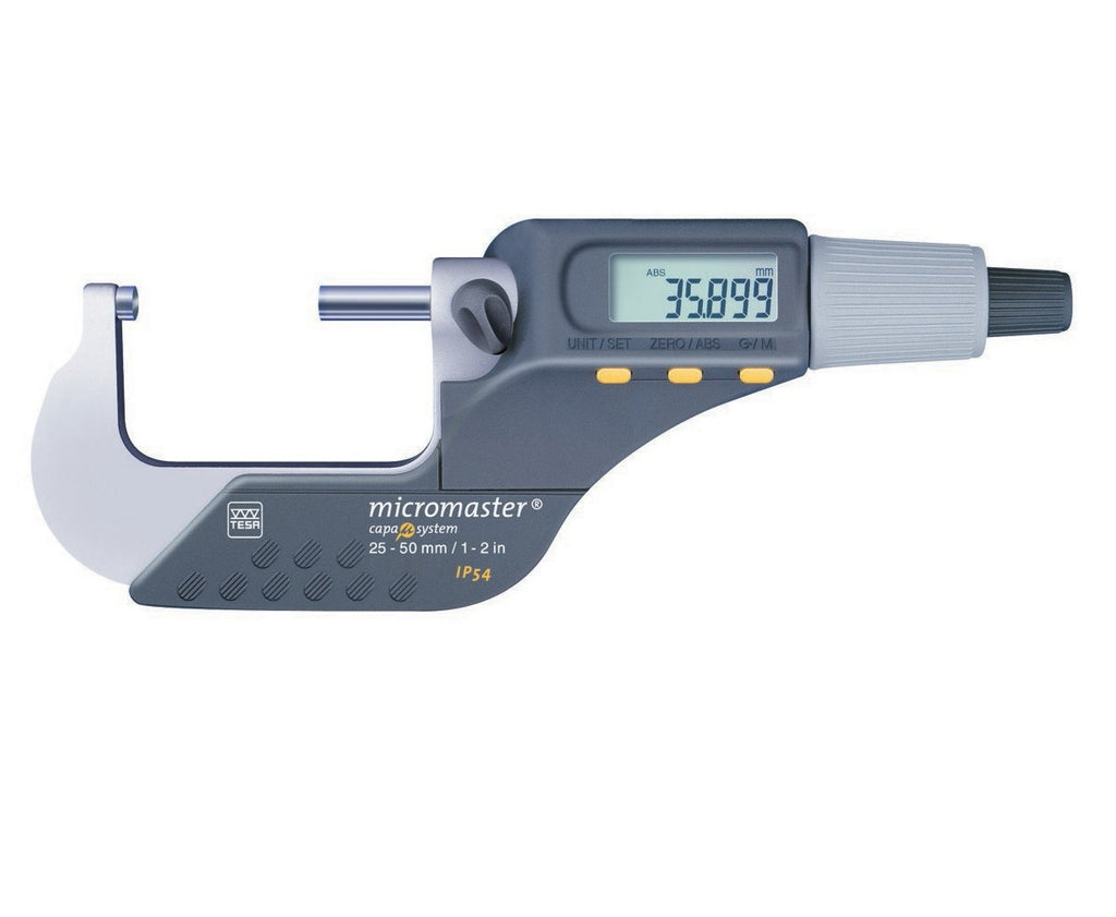 TESA Micromaster 25-50mm IP54 Digital Micrometer 06030021