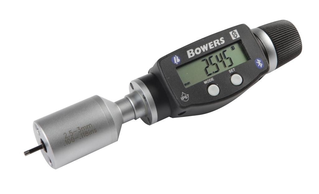 Bowers XTD3M-BT (3-4mm) Digital Bore Gauge UKAS