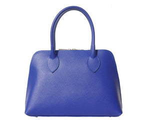 Top Handle Italian Leather Bag - Giulia