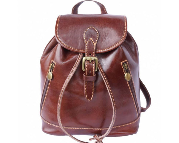 Leather Backpack - Luminosa