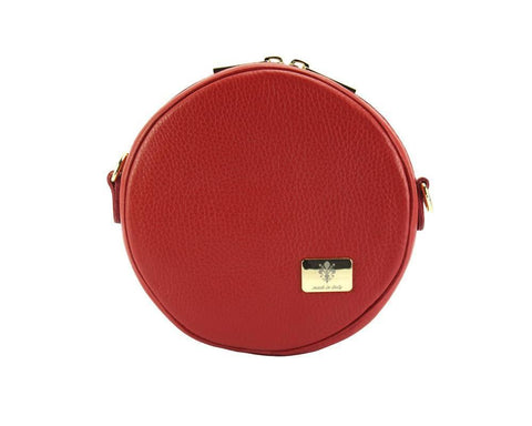 Lucrezia - Small Italian Leather Cross Body Bag