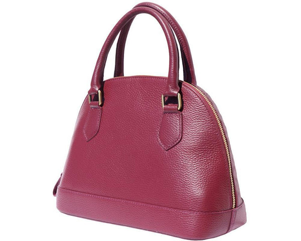 Bowling Italian Leather Bag