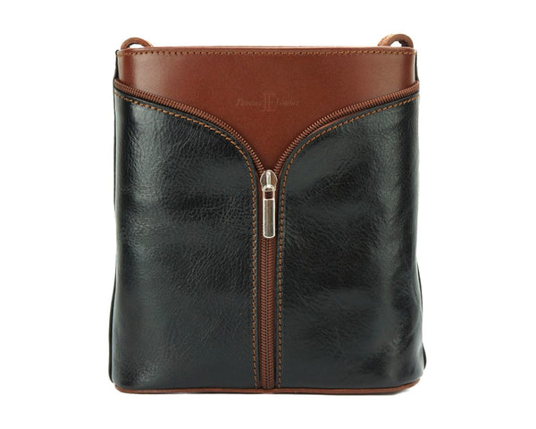 Maddalena Leather Shoulder Bag