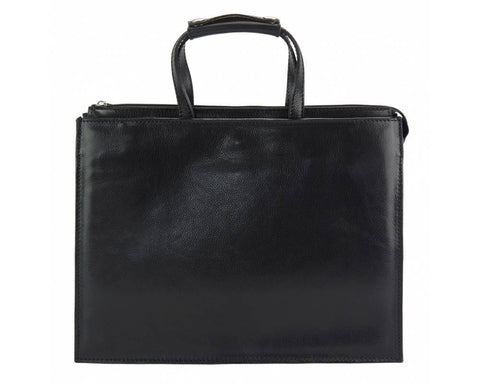Ivano Italian leather Tote/Briefcase