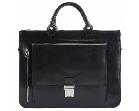Donato, Women's Italian Leather Briefcase