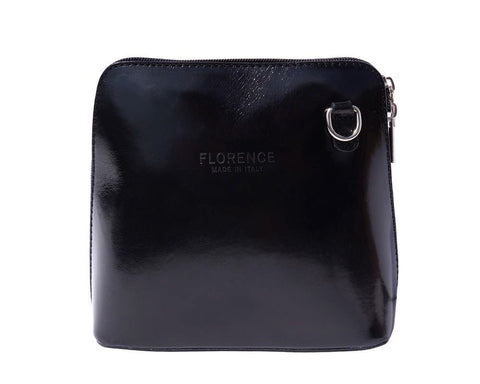 Small Leather Cross Cross Body Bag - Dalida