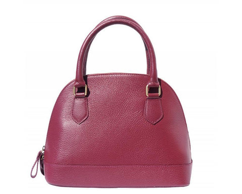 Bowling Italian Leather Bag - discontinued color