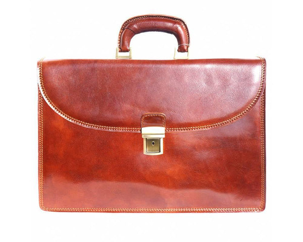 Luxury Italian Leather Briefcase