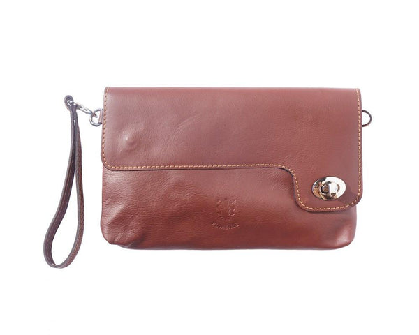 "Soft Italian Leather Clutch ""Favorite"""
