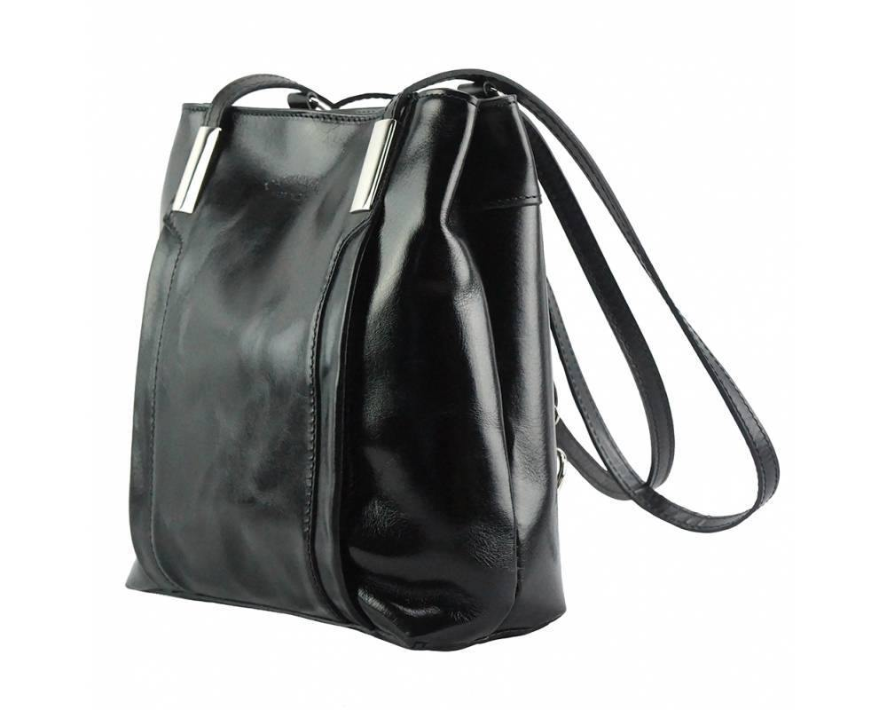 Lidia  Shoulder Bag - Backpack Leather Bag