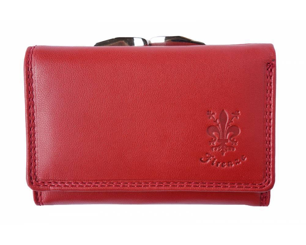 Women's Tri Fold Leather Wallet - Marta