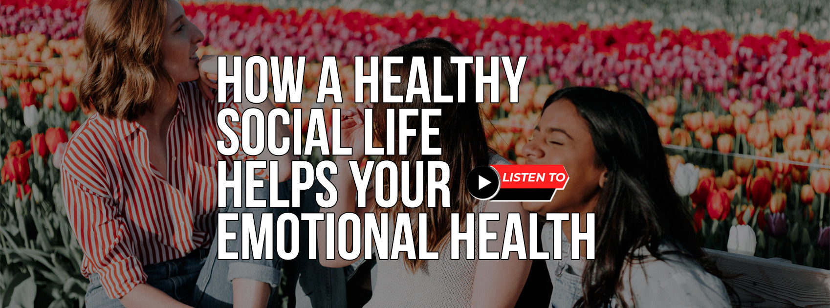 How A Healthy Social Life Helps Your Emotional Health