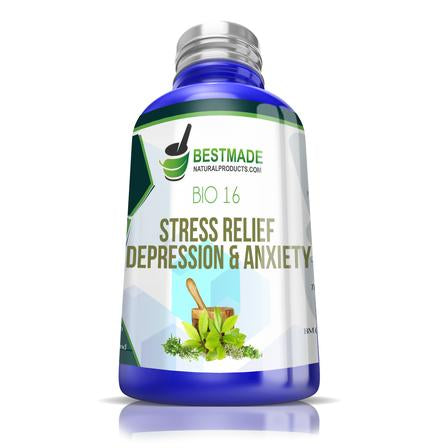 Natural Relief for Anxiety & Depression BM17 (30ml)