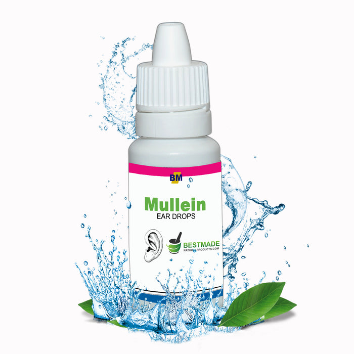 Mullein Ear drops a Natural Treatment for Infection & Earache Relief, 15mL