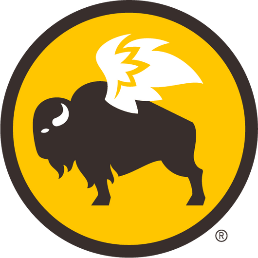 STICKERS: Buffalo Circle Icon Logo